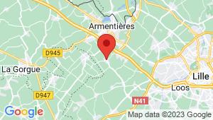 Carte de localisation du centre de contrôle technique BOIS GRENIER