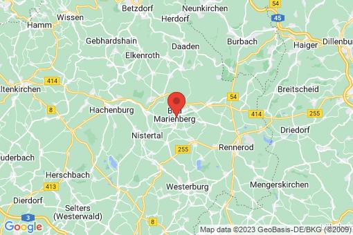 Karte Bad Marienberg