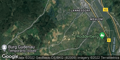 Google Map of Ließem bei Bad Godesberg