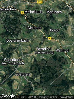 Google Map of Berod bei Hachenburg