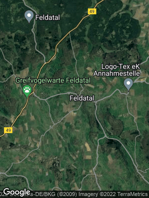 Google Map of Feldatal