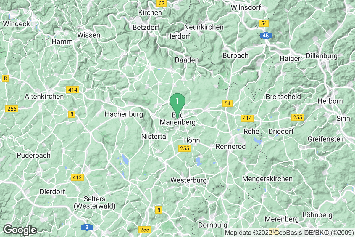 Google Map of Bad Marienberg