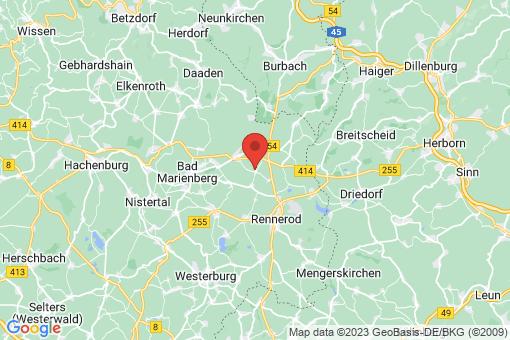 Karte Oberroßbach