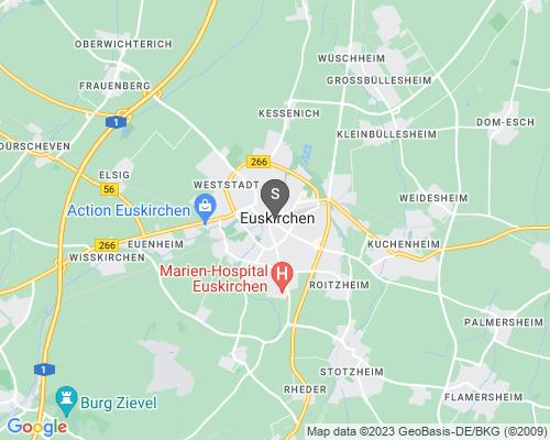 Google Karte von Schlüsseldienst Euskirchen