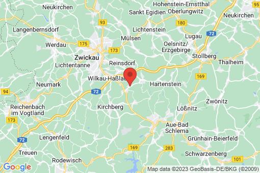 Karte Wildenfels Schönau