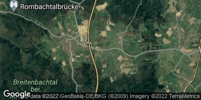 Google Map of Oberrombach