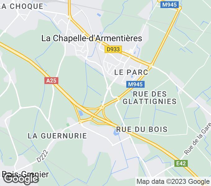 Terrain constructible en vente la chapelle d 39 armenti res for Garage la chapelle d armentieres