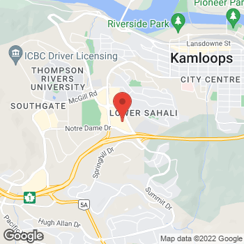Map of Bed Bath & Beyond at 300-500 Notre Dame Drive, Kamloops, BC V2C6T6