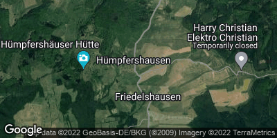 Google Map of Friedelshausen