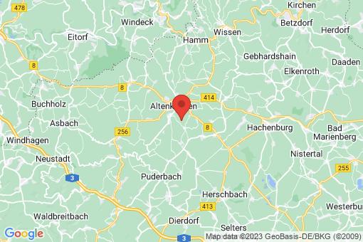 Karte Oberwambach