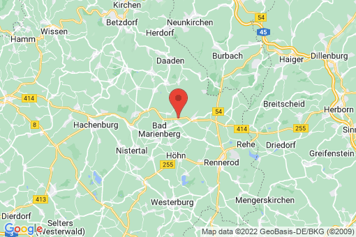 Karte Nisterau