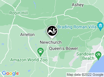 A static map of Newchurch Moors Nature Reserve