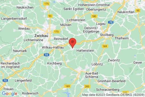 Karte Wildenfels