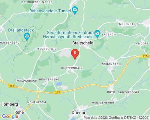 Google Karte von Rohrreinigung Breitscheid