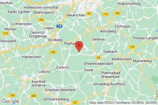 Karte Hormersdorf