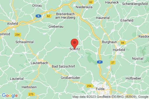 Karte Schlitz