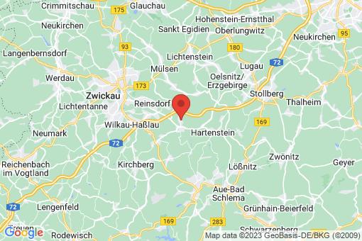 Karte Wildenfels Härtensdorf
