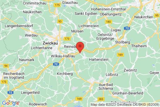 Karte Wildenfels Wildenfels