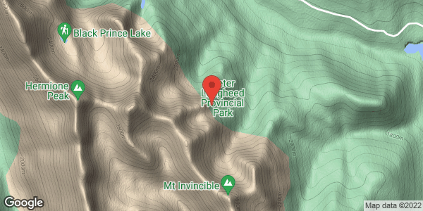 Gypsum ridge area