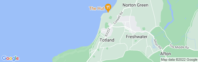 Map Of Totland Bay