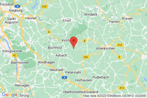 Karte Hirz-Maulsbach