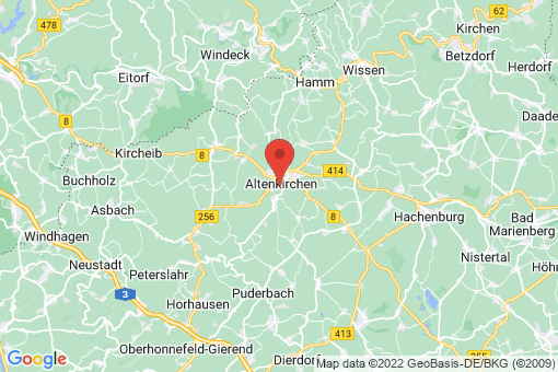 Karte Almersbach