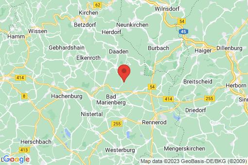 Karte Nisterberg