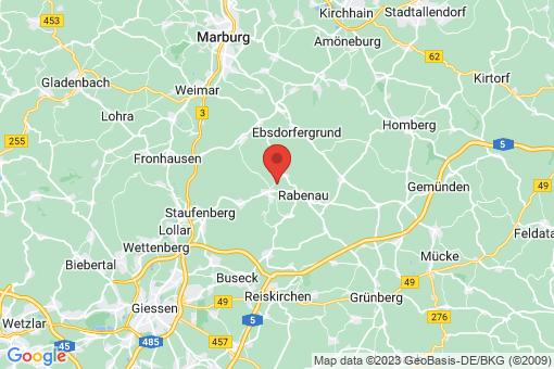 Karte Allendorf (Lumda)