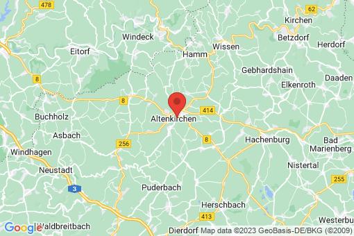 Karte Altenkirchen