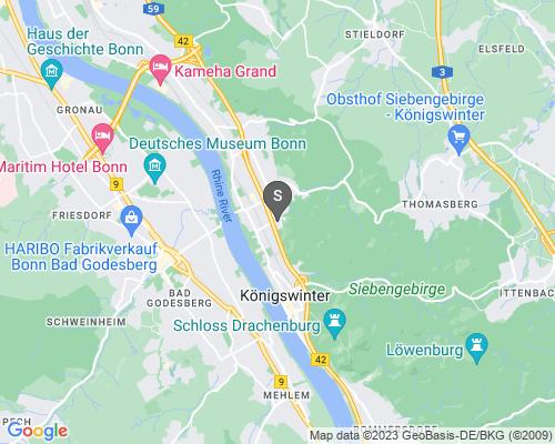 Google Karte von Schlüsseldienst Königswinter