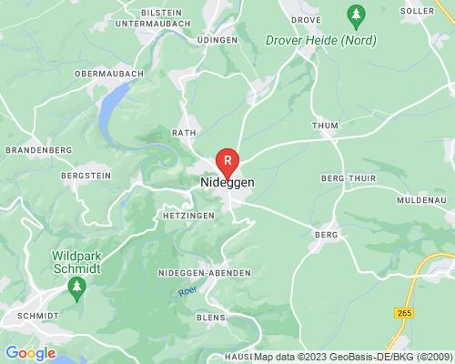 Google Karte von Rohrreinigung Nideggen