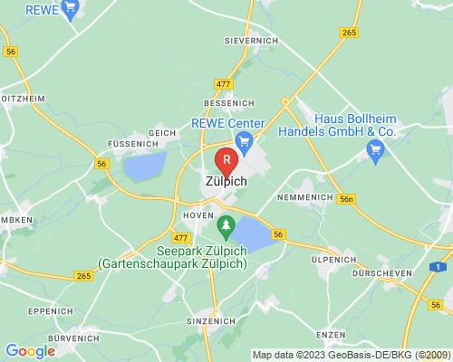 Google Karte von Rohrreinigung Zülpich