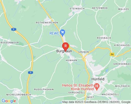 Google Karte von Rohrreinigung Burghaun