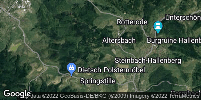 Google Map of Altersbach