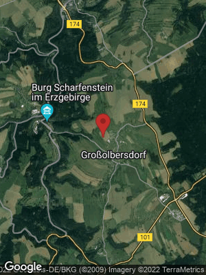 Google Map of Großolbersdorf