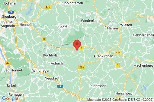 Karte Ersfeld