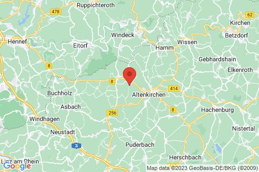 Karte Birnbach