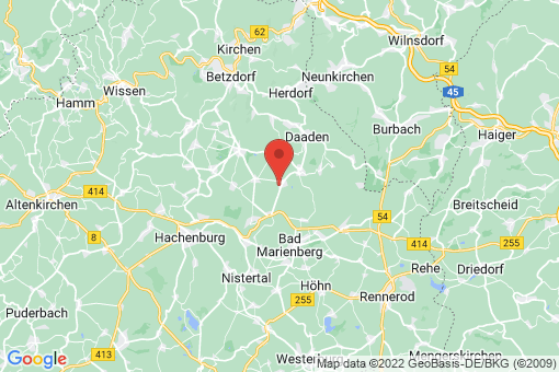 Karte Langenbach bei Kirburg