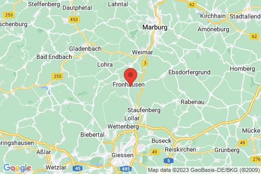 Karte Fronhausen