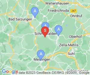 Karte für Akzent Aktiv & Vital Hotel Thüringen