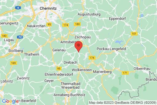 Karte Scharfenstein