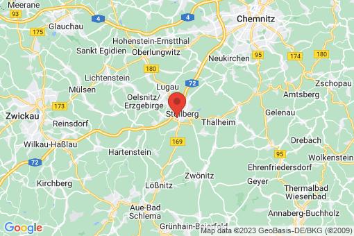 Karte Stollberg/Erzgebirge