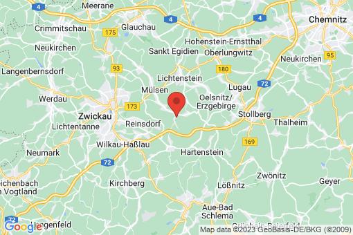 Karte Mülsen Ortmannsdorf, Ortmannsdorf