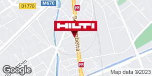 Espace Hilti - La Plateforme du Bâtiment - Lille / Wasquehal (Zi de la Pilaterie)