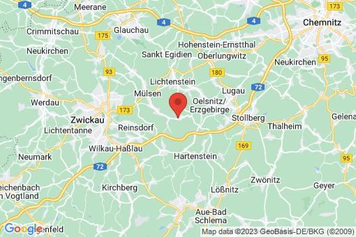 Karte Mülsen Ortmannsdorf, Neuschönburg