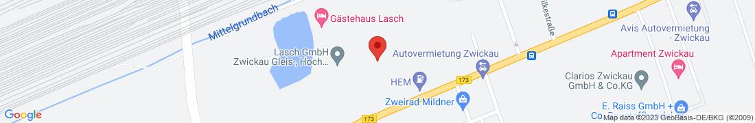 BayWa Agrar Zwickau Anfahrt