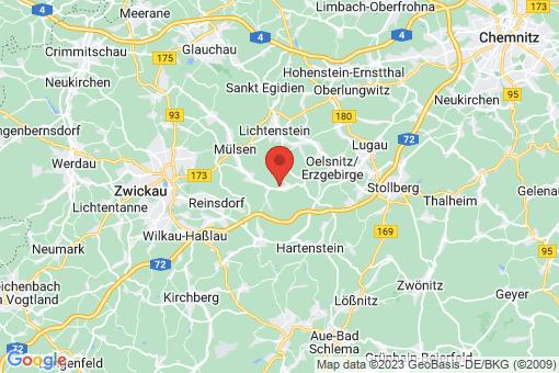 Karte Mülsen Ortmannsdorf