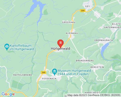 Google Karte von Rohrreinigung Hürtgenwald