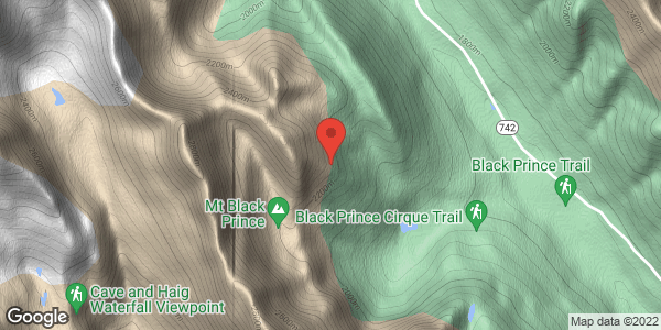 Mt. Black Prince, ESE spur