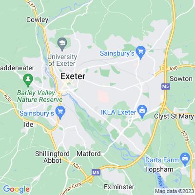 Wonford Hospital Location